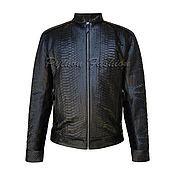 Мужская одежда handmade. Livemaster - original item Men`s jacket of Python PILOT. Handmade.