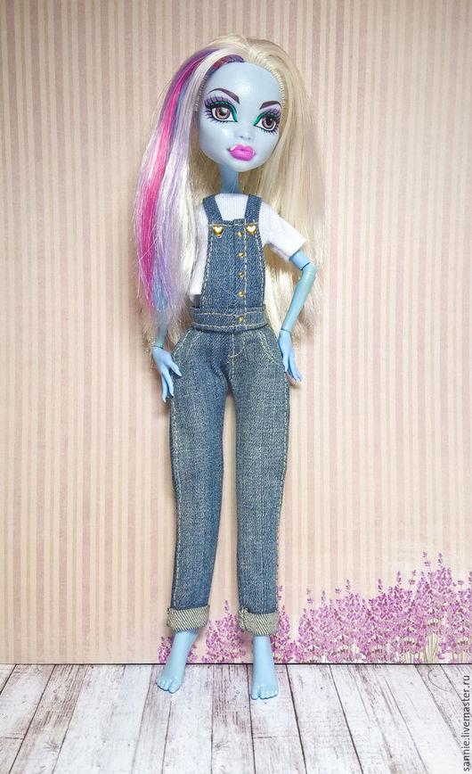 Одежда для кукол ручной работы. Ярмарка Мастеров - ручная работа. Купить Одежда для кукол Monster High. Handmade. Морская волна
