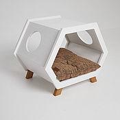 Для дома и интерьера handmade. Livemaster - original item House, bedside table, couch Retro White&Horse. Handmade.