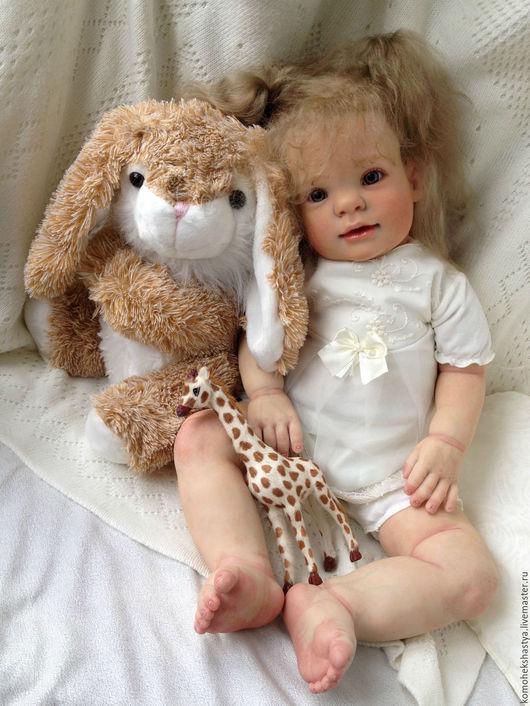 Куклы-младенцы и reborn ручной работы. Ярмарка Мастеров - ручная работа. Купить Кукла реборн Паулина.. Handmade. Кремовый, Молд