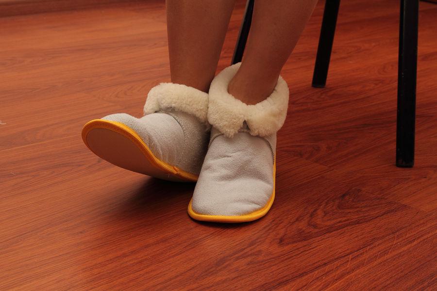 Изготовление домашней обуви