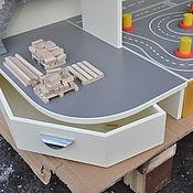Для дома и интерьера handmade. Livemaster - original item Garage for cars. The Rack (Part 2). Construction site. Handmade.