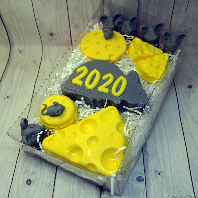 """Набор мыла ручной работы """"Новый год 2020"""", Мыло, Москва, Фото №1"""