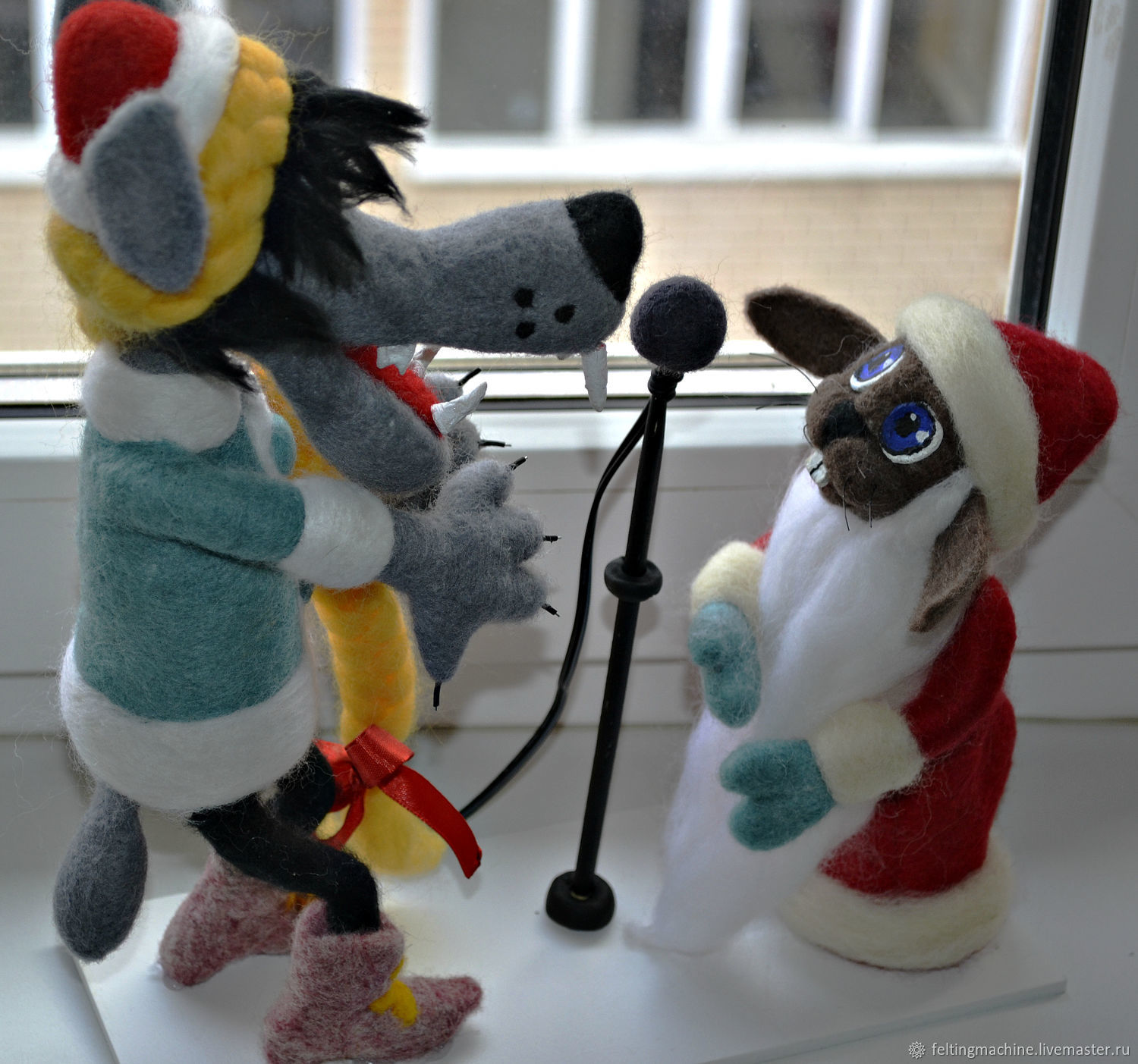 The song from the cartoon 'Nu, pogodi!', Stuffed Toys, Krasnodar,  Фото №1