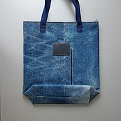 Сумки и аксессуары handmade. Livemaster - original item shopper: SIMEIER denim bag. Handmade.