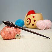 Материалы для творчества handmade. Livemaster - original item Spinning spindle 30,5 cm Cedar Wood spindle B55. Handmade.