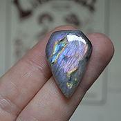 Материалы для творчества handmade. Livemaster - original item Labradorite. Cabochon 29 X 20 X 5. Handmade.