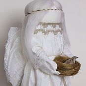 """Куклы и игрушки ручной работы. Ярмарка Мастеров - ручная работа """"Ангел Благой Вести"""" кукла - образ. Handmade."""