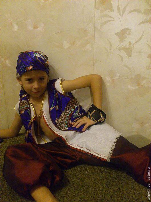 Детские карнавальные костюмы ручной работы. Ярмарка Мастеров - ручная работа. Купить Разбойник. Handmade. Разбойник, лён