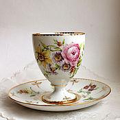 handmade. Livemaster - original item The painted porcelain.Decorative vase