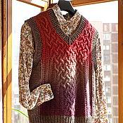 Одежда ручной работы. Ярмарка Мастеров - ручная работа Жилет Ботаник на стиле. Handmade.