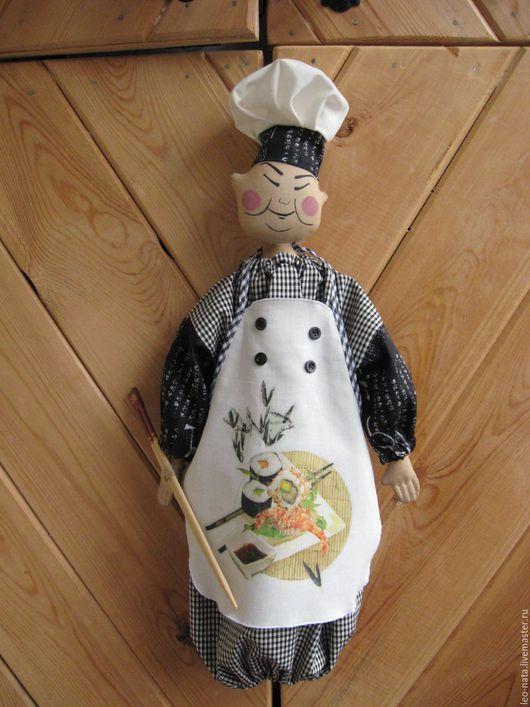 """Кухня ручной работы. Ярмарка Мастеров - ручная работа. Купить Пакетница  """"Мастер суши """". Handmade. Кухня, подарок на новоселье"""