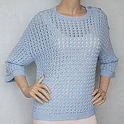 Одежда handmade. Livemaster - original item Pullover cashmere Merino