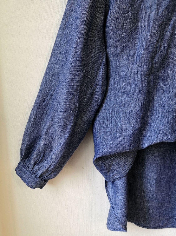 Винтаж: Лен 100 %  рубашка льняна  блузка, Одежда винтажная, Северодвинск,  Фото №1