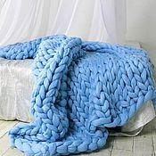 Для дома и интерьера ручной работы. Ярмарка Мастеров - ручная работа Плед из шерсти мериноса. Handmade.