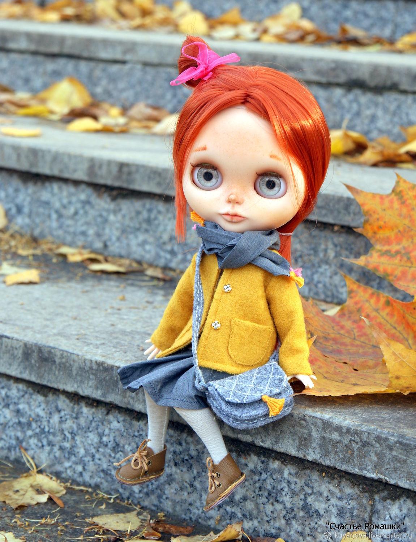 Жёлтый осенний комплект для Блайз, Одежда для кукол, Ижевск, Фото №1