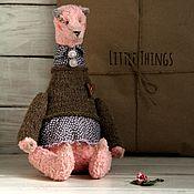 Куклы и игрушки ручной работы. Ярмарка Мастеров - ручная работа Мишка Strawberry. Handmade.