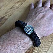Украшения handmade. Livemaster - original item Scandinavian paracord bracelet (Axe). Handmade.