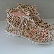 Обувь ручной работы. Ярмарка Мастеров - ручная работа Полусапожки. Handmade.