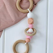 Куклы и игрушки handmade. Livemaster - original item Teethers-gryzunki. Handmade.