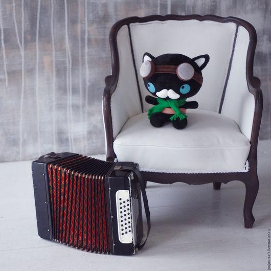 Игрушки животные, ручной работы. Ярмарка Мастеров - ручная работа. Купить Котик Стимпанк (steampunk) в стиле Октонавты Мягкая Игрушка. Handmade.