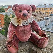 Мишки Тедди ручной работы. Ярмарка Мастеров - ручная работа Мишка Тедди, 31 см, из антикварного плюша. Handmade.