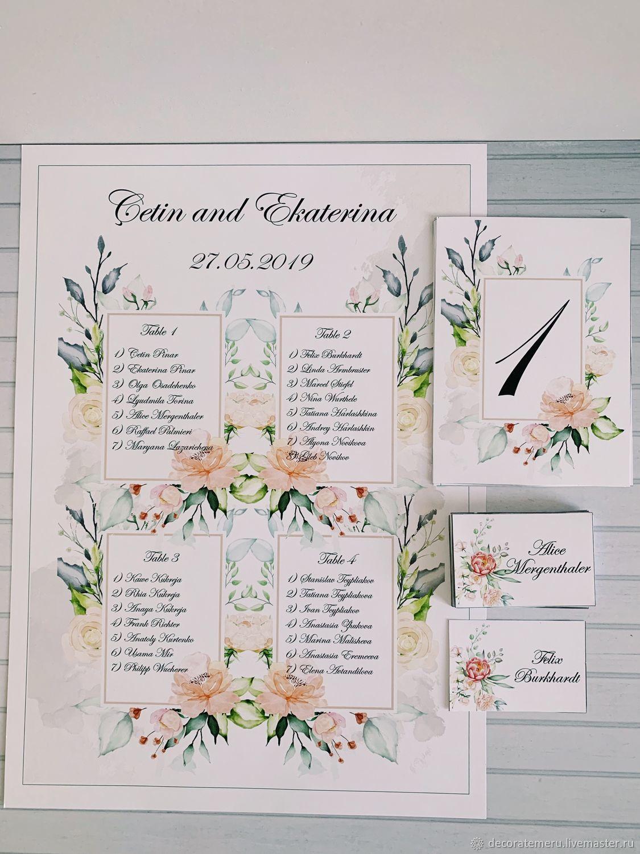 вышивальщицы настороженно рассадка гостей в виде открытки делать, если