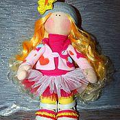 Куклы и игрушки ручной работы. Ярмарка Мастеров - ручная работа Кукла-Снежка. Handmade.