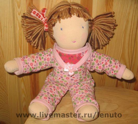 Вальдорфская игрушка ручной работы. Ярмарка Мастеров - ручная работа. Купить Вальдорфская кукла. Handmade. Куклы и игрушки, авторская кукла