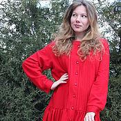 Одежда handmade. Livemaster - original item Warm boho dress