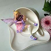 Куклы и игрушки handmade. Livemaster - original item The tea fairy in the circle