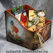 Для дома и интерьера handmade. Livemaster - original item Box for seeds. Handmade.