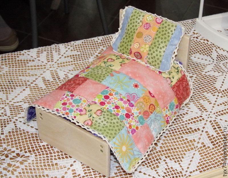 Кроватка для зверюшки или куклы (маленькая), Мебель для кукол, Краснодар,  Фото №1