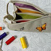 Сумки и аксессуары handmade. Livemaster - original item Beautician - orgonayzer Needlewoman. Handmade.