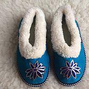 Обувь ручной работы handmade. Livemaster - original item Womens fur chuvaki 35,36. Handmade.