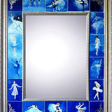 Для дома и интерьера ручной работы. Ярмарка Мастеров - ручная работа Зеркала: Балет. Handmade.