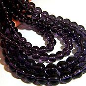 Beads1 handmade. Livemaster - original item Quartz amethyst color. ball 10 mm. Handmade.