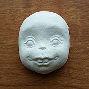 Куклы и игрушки ручной работы. Ярмарка Мастеров - ручная работа Мордочки обезьянок авторские отливки из флюмо со скидкой. Handmade.