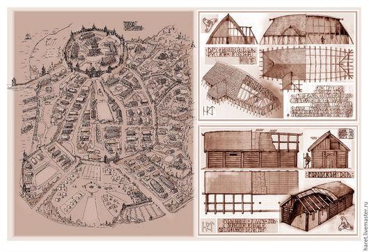 Дизайн экстерьера ручной работы. Ярмарка Мастеров - ручная работа. Купить Эскизные Проекты. Handmade. Комбинированный, художественная, карандаши, краски