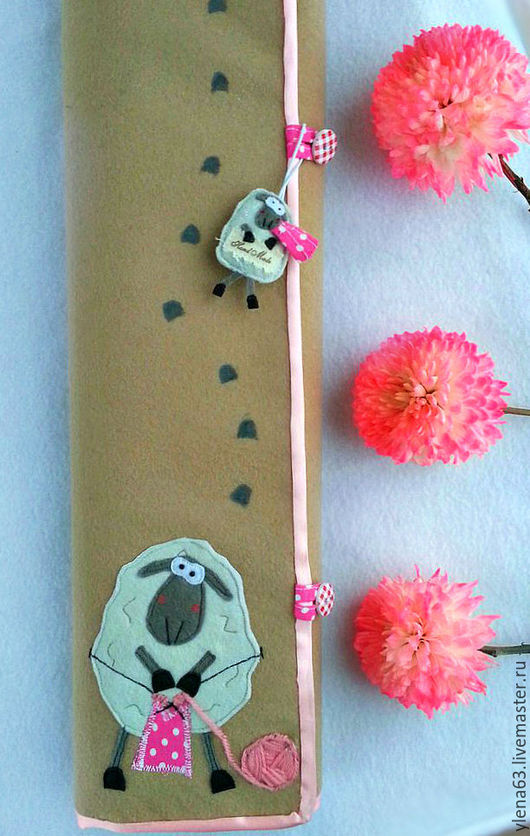 Органайзеры для рукоделия ручной работы. Ярмарка Мастеров - ручная работа. Купить Органайзер для спиц и крючков. Handmade. Комбинированный, ручная роспись