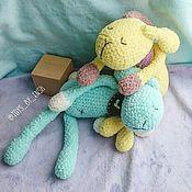 """Куклы и игрушки ручной работы. Ярмарка Мастеров - ручная работа Игрушка для малыша """"Заяц-сплюшка"""". Handmade."""