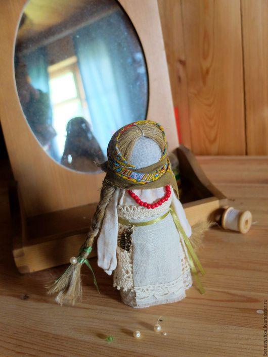 Сувениры ручной работы. Ярмарка Мастеров - ручная работа. Купить Желанница. Handmade. Оберег, подружка, скрутка из ткани, нитки хлопок