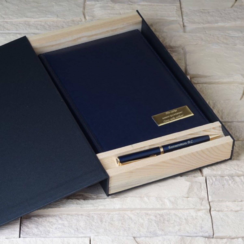 Набор ручка Pierre Cardin и ежедневник в подарочной коробке, Ручки, Москва,  Фото №1