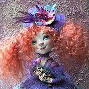 Куклы и игрушки ручной работы. Ярмарка Мастеров - ручная работа кукла Фея Удачи Волшебство Рыжая фея из полимерной глины. Handmade.