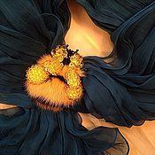 Украшения ручной работы. Ярмарка Мастеров - ручная работа Брошь Шмель. Handmade.