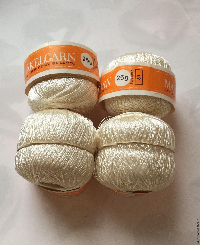 Ирис шелковый для вязания