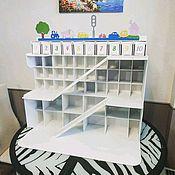 Кукольные домики ручной работы. Ярмарка Мастеров - ручная работа Парковка гараж для мальчика. Handmade.