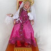 Куклы и игрушки ручной работы. Ярмарка Мастеров - ручная работа Царевна несмеяна. Handmade.