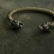 Украшения handmade. Livemaster - original item Braided bronze bracelet ,bracelet Lynx. Handmade.
