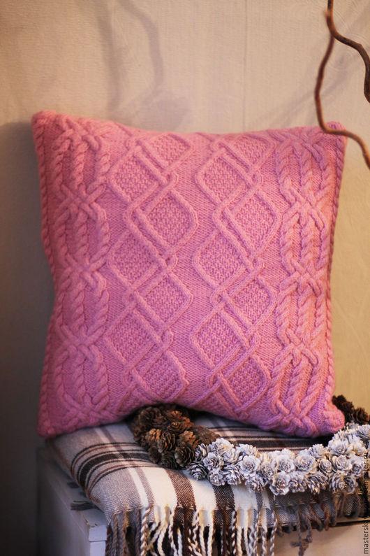 """Текстиль, ковры ручной работы. Ярмарка Мастеров - ручная работа. Купить Подушка """"Pink dreams"""". Handmade. Розовый, подушка диванная"""